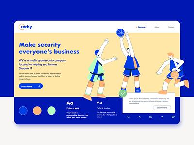 Style tile - Cerby v1 wizelineux design webdesign uidesign styletile