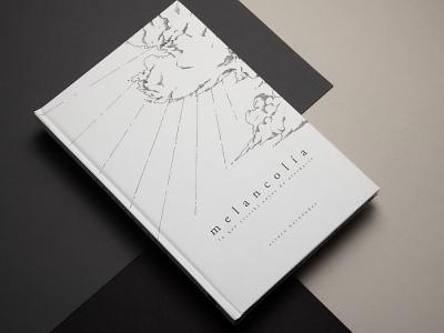 Melancolía - Illustration and Editorial Design editorial art graphicdesign editorial illustration illustration art design poetry book cover editorial design lineart illustration