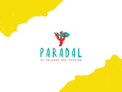 Draft: Paradal - Seaside B&B restaurant logo restaurant branding restaraunt fish sea coral reef branding design branding logodesign logo design logo