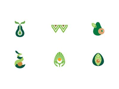 Avocado symbol - samples