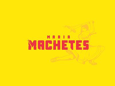 Maria Machetes mexican food mexican mexico ilustración logotipo branding design branding logotype design logotype logo illustration