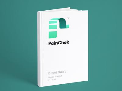 PainChek typography branding logotype logo