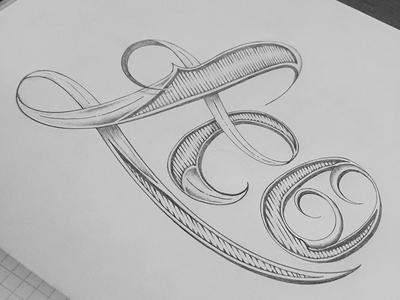 Leo zodiac leo calendar hand-drawn typography series lettering