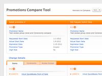 Compare Tool web UI