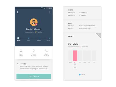 User Info Screen - Mobile toppr user profile user info stats app android user profile mobile ios ux ui