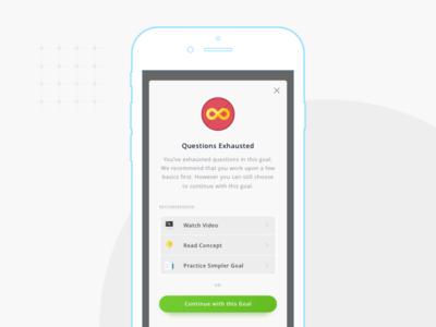 Mobile App Modal