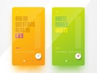 Mobile App - Concept