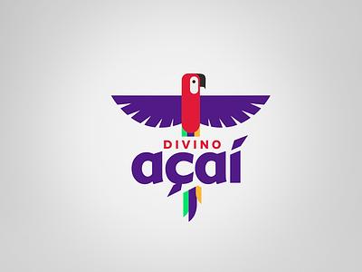 Acai Berry icon design logo branding