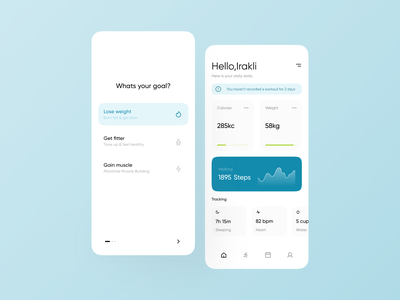 Workout App traning running app running workout tracker workouts workout app fitness club fitness app fitness workout walking login account clean mobile design app ui minimalistic clean ui