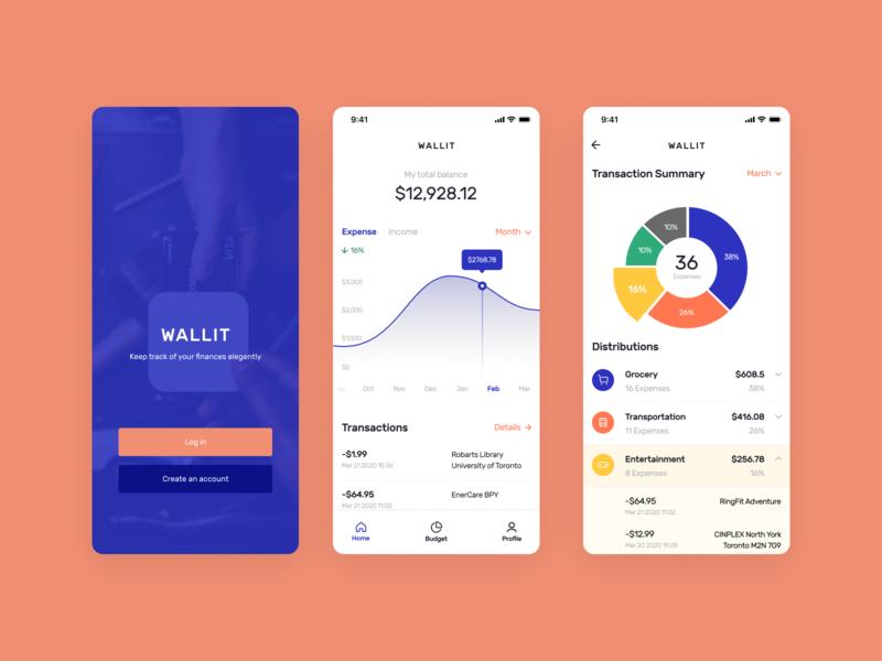 Wallit - Personal Finance