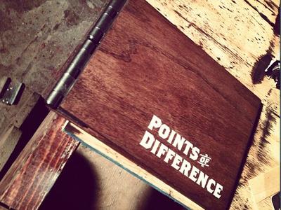 wood bound book
