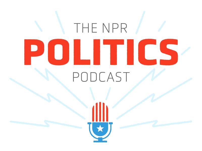 The NPR Politics Podcast Rebrand audio american flag united states political politics podcast typography election logo america npr identity illustration branding design
