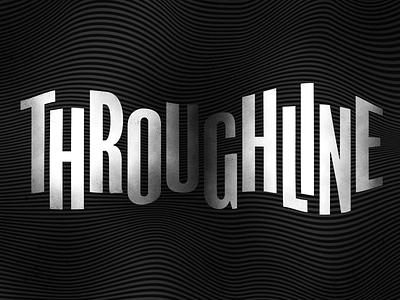 Throughline podcast illustraion npr identity logo brand brand identity branding typogaphy type