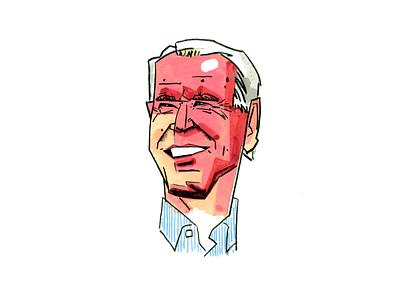 Biden Illustration democrat election united states usa government portrait biden president america illustration