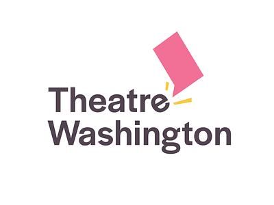 Theatre Washington performing arts arts theatre washington dc identity design branding