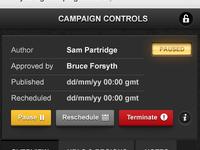 Campaign Control Panel