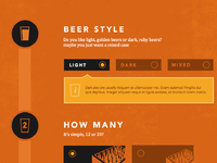 Beer selector