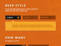 Brewery Gate - Beer Selector