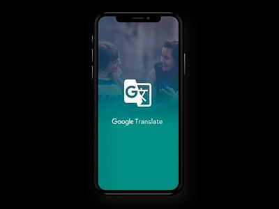Google Translate - Motion sketch principle mobile ux ui motion translate