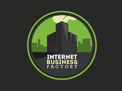 Internet Business Factory Logo logo business factory