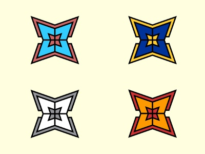 Creating some shields graphic design outlines shield logo color scheme shields color variations flat design vectors shield