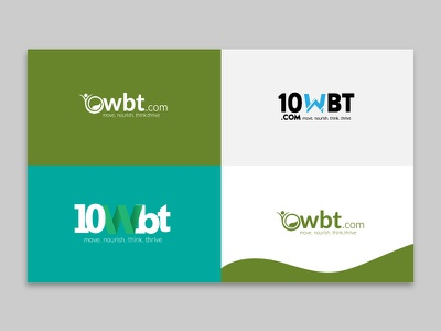 10WBT - 10 week body transformation logo design 10wbt 10 week body transformation
