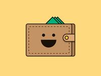 Happy wallet