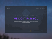Travel site concept