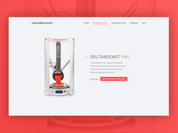3D printer product page