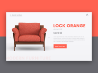 Armchair Product Page
