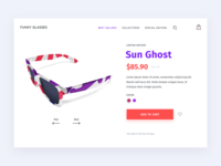 Sunglasses Product Page