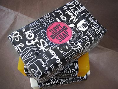 Slippy Soap  packaging soap packaging logo brand identity brand soap slippy soap cristianovicedomini