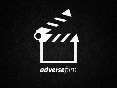 Adverse Film Cristiano Vicedomini logo brand corporate id corporate identity logotype