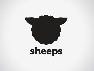 Sheeps  logo brand corporate id corporate identity logotype