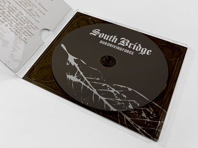 South Bridge - CD Cover cd band logo cd cover ep cover cd packaging ep packaging