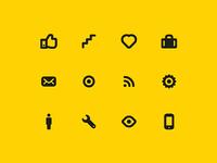 Getontop icon set
