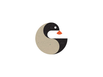 Bird mark design logo unused bird nature round animal illustration circular circle