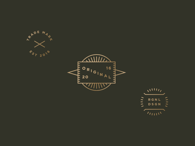 Original tag crest badge clothing original unused icon logo design mark