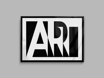 Art poster unused custom font typography logo lettering design circle poster fineart digital art exclude
