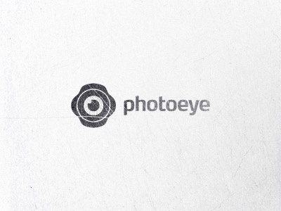 Photoeye design eye lens hood photo photographer logo foto