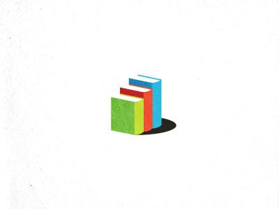 Step education design mark logo step learning education book ladder unused