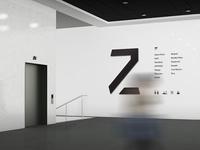Signage wall