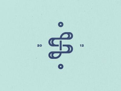 S knot mark s monogram mark logo design letter typography unused knot bend old sea crest