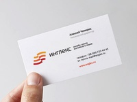 Englex business card