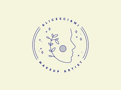 Alicesciami monoline minimal icon flat logo design logodesign logotype logos logo branding design brand identity brand design branding brand