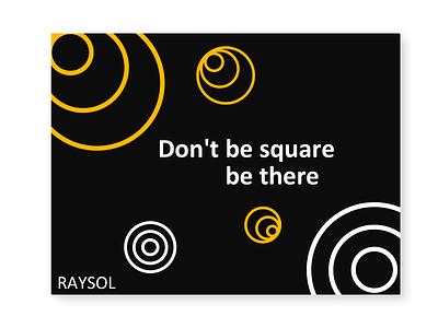 Raysol digital vector logo illustration branding design sketch