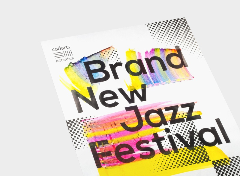 Brand New Jazzfestival Codarts - Studio Bureau