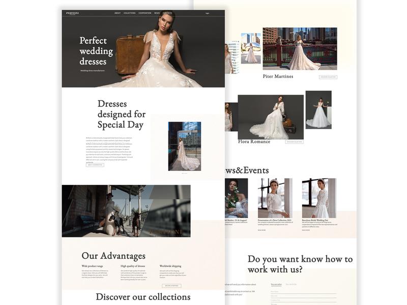 Perfioni — Design for wedding dresse manufacturer