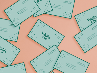 Wallis & Co business cards