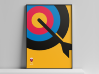 Olympic Team Qatar Posters - Archery